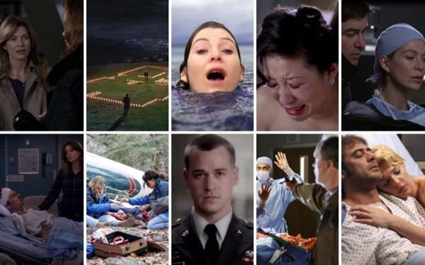 Grey's Anatomy: The 10 Most Memorable Moments - AmongMen