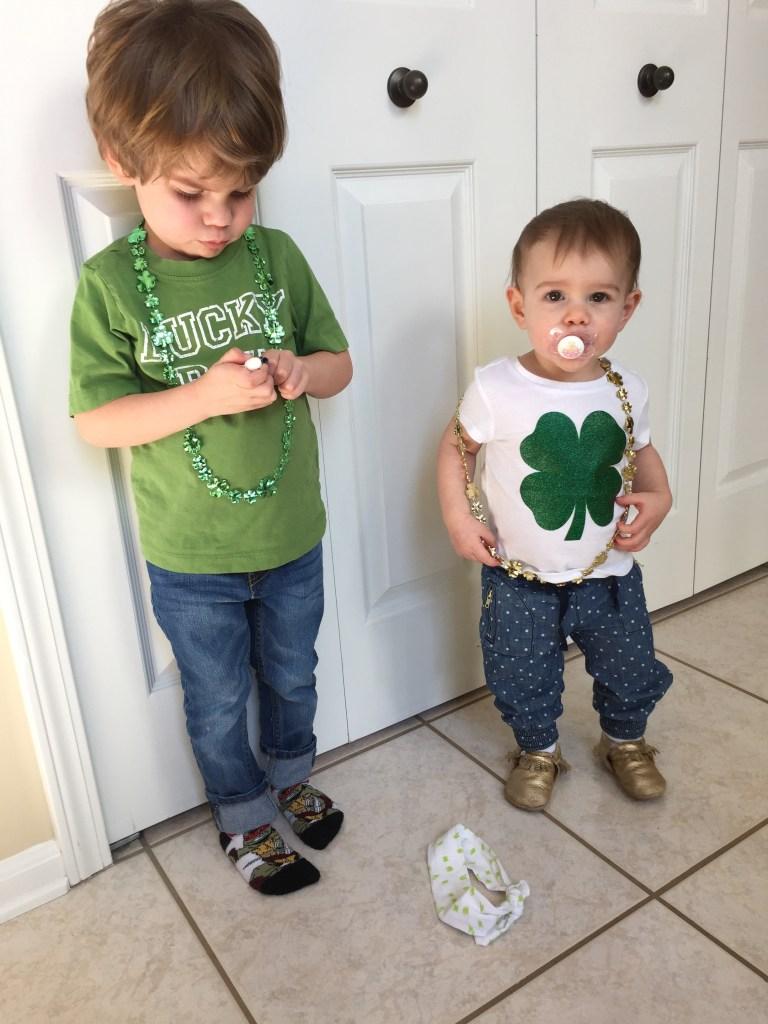St. Patrick's Day Style.
