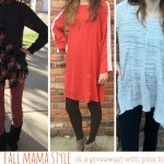 Fall Mama Style (& a giveaway) with Pink Blush.