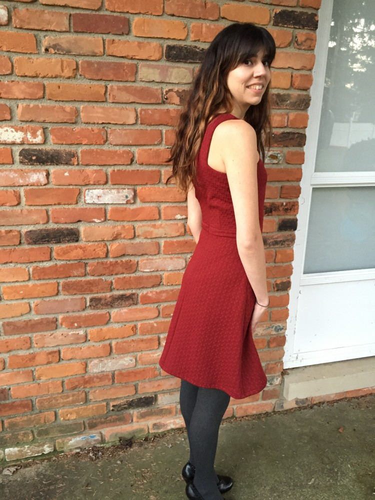 Idell Dress, Collective Concepts December 2015 Stitch Fix // www.amonkeyandhismama.com