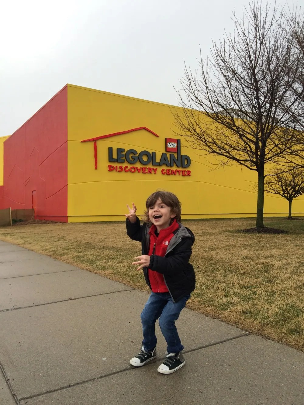LEGOLAND Discovery Center Michigan, with toddlers // a monkey and his mama
