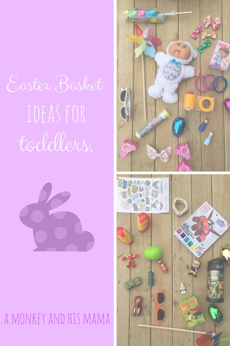 easter basket ideas for toddlers // a monkey and his mama