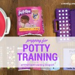 Prepping for Potty Training with Pull-Ups® Learning Designs®.