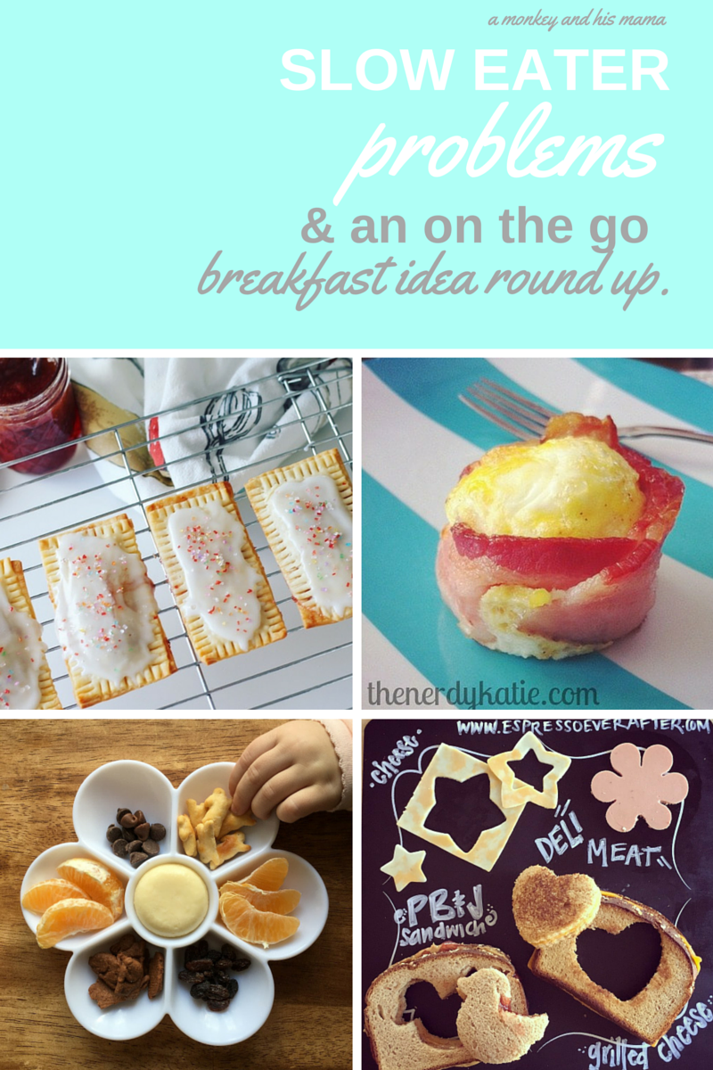 on the go breakfast idea round up // a monkey and his mama