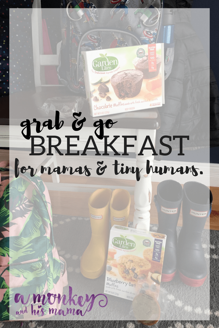 grab & go breakfast // a monkey and his mama