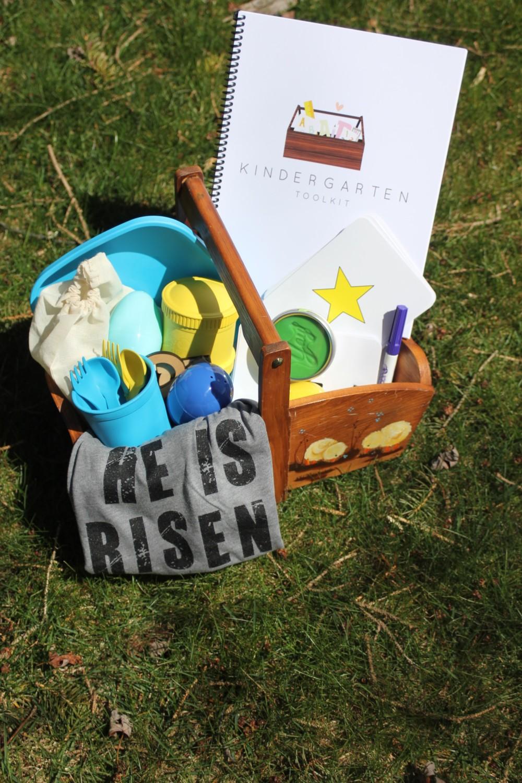 easter basket for preschooler