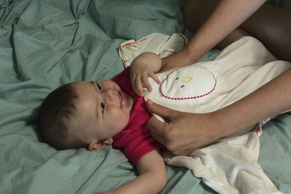 the zen swaddle for better baby sleep