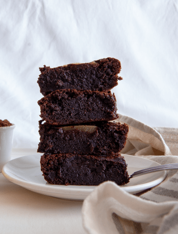 brownies alle pere
