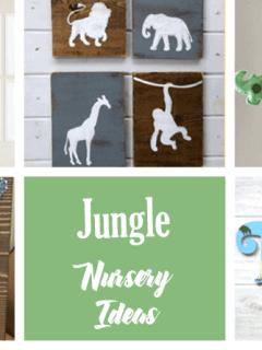 safari nursery idea - boy nursery theme - amorecraftylife.com