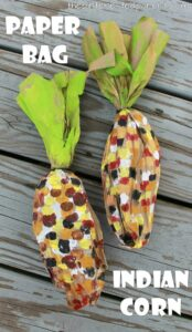 corn kid crafts - harvest kid crafts - fall kid crafts- crafts for kids - morecraftylife.com