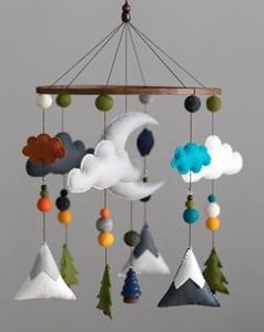 woodland nursery idea - nursery theme - animal nursery - amorecraftylife.com #baby #nursery #babygift #woodland
