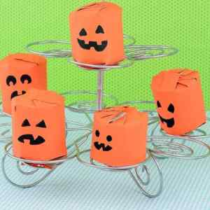 MMS Gifts Foam Halloween Crafts and Stickers for Kids Peel and Stick Glitter Sparkle Prints of Pumpkins Ghosts Spiders Bats Pirates Jack OLantern