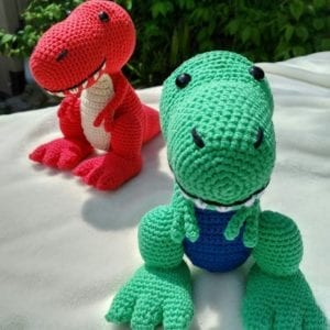 Dinosaur Crochet Patterns – For Your Dino Lover - A More Crafty Life