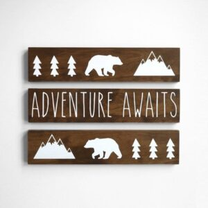 bear nursery ideas - animal nursery - woodland nursery - boy or girl nursery theme - amorecraftylife.com #baby #nursery #woodland