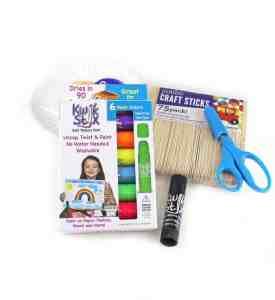 witch puppet kid craft - halloween kid craft -amorecraftylife.com #kidscraft #craftsforkids #preschool