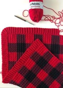 Plaid Crochet Patterns Create Trendy Plaid A More