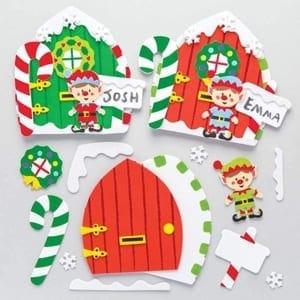 elf kid craft - christmas kid craft - arts and crafts activities - amorecraftylife.com #kidscraft #craftsforkids #christmas #preschool
