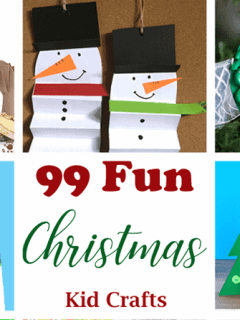 christmas kid crafts - arts and crafts activities - amorecraftylife.com #kidscraft #craftsforkids #christmas #preschool