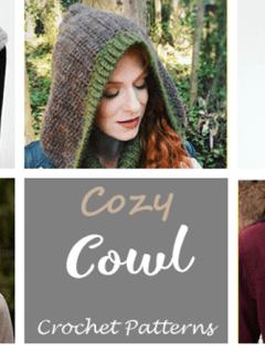 cowl crochet pattern- crochet pattern pdf - amorecraftylife.com #crochet #crochetpattern