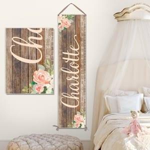 Floral Nursery Ideas Pretty Baby Room Decor A More Crafty Life
