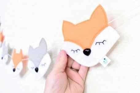 fox nursery ideas- boy nursery theme - woodland nursery - amorecraftylife.com #baby #nursery #babygift #babyboy