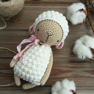 Crochet Bobble Sheep Lots Of Gorgeous Free Patterns | 300x300