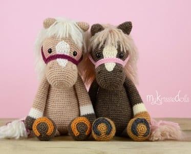 Horse Unicorn Crochet Patterns Amigurumi A More Crafty Life