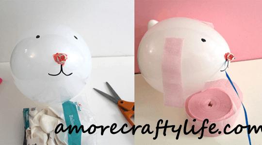 bunny kid crafts - easter kid crafts - arts and crafts activities -spring kid craft- preschool and toddler craft - amorecraftylife.com #kidscraft #craftsforkids #easter #preschool