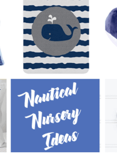 nautical nursery idea - ocean anchor - boy nursery theme - amorecraftylife.com #baby #nursery #babygift