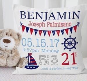 nautical nursery idea - ocean anchor - boy nursery theme - amorecraftylife.com #baby #nursery #babygift