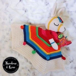 security blanket crochet pattern - baby lovey crochet pattern- baby crochet pattern pdf - amigurumi amorecraftylife.com #crochet #crochetpattern #baby