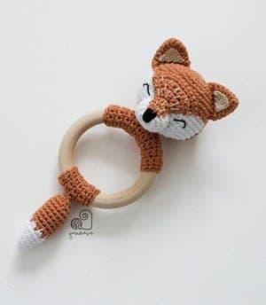 fox crochet pattern - amigurumi crochet pattern - amorecraftylife.com #crochet #crochetpattern #diy #amigurumi
