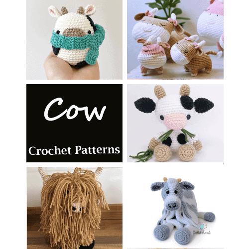 Adorable Crochet Amigurumi Animals - Pattern Center | 500x500