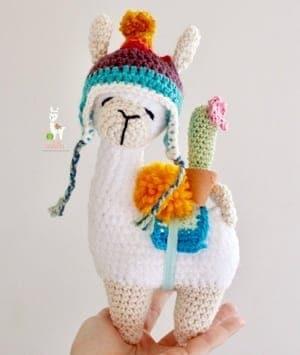 CROCHET PATTERN: Llama Amigurumi Plush | Etsy | 355x300