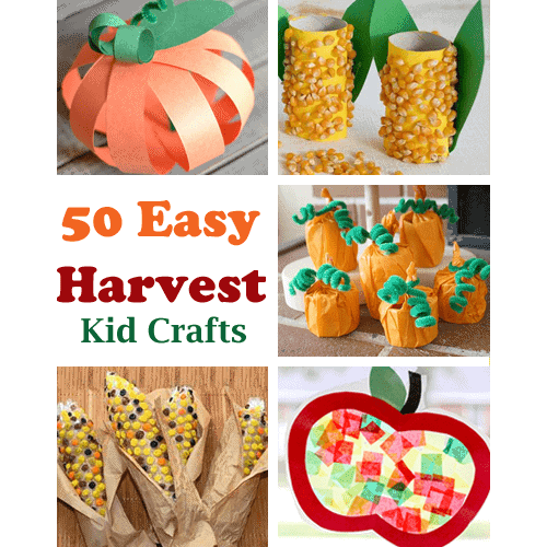 Harvest Kid Crafts Fall Learning Fun A More Crafty Life