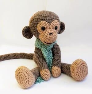 Little Bigfoot Monkey Revised Pattern Video Tutorial | 306x300