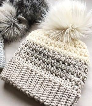 crochet hat pattern - winter hat - beanie crochet pattern - amorecraftylife.com #hat #crochet #crochetpattern