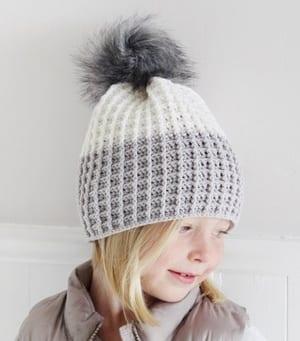 free crochet hat pattern - winter hat - beanie crochet pattern - amorecraftylife.com #hat #crochet #crochetpattern