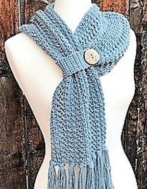 scarf crochet pattern- crochet pattern pdf - amorecraftylife.com #crochet #crochetpattern