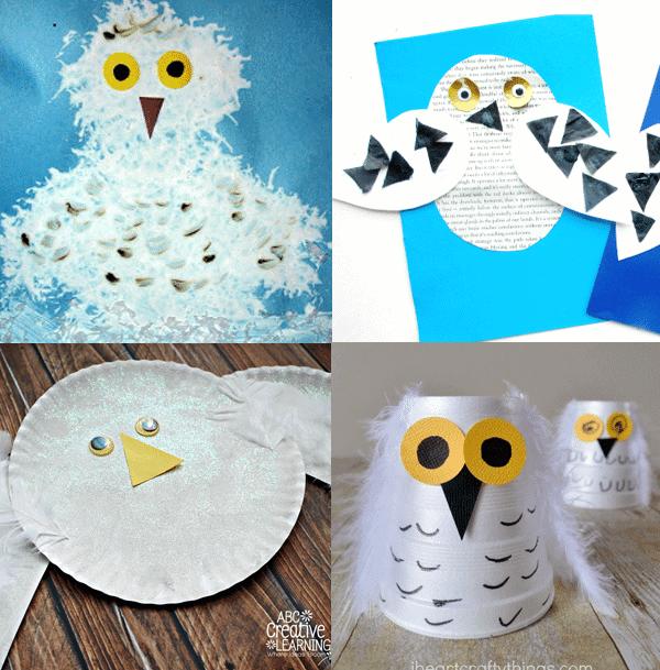 arctic animal craft for kids- arts and crafts activities - winter animal kid craft- amorecraftylife.com #kidscraft #craftsforkids #preschool