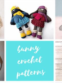 amigurumi crochet bunny patterns - rabbit crochet pattern - Easter pdf - amorecraftylife.com amigurumi #crochet #diy