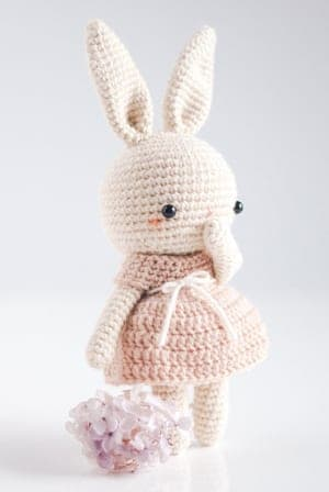 a crochet Bunny long ear, special crochet toys for newborn baby ... | 448x300