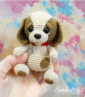 11 Amigurumi Dog Crochet Patterns – Cute Puppies - A More Crafty Life | 342x300