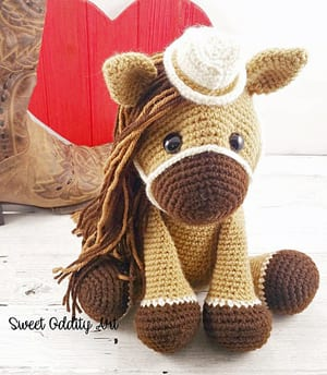 Amigurumi Crochet Horse Patterns - Amigurumi Patterns Tutorials | 344x300