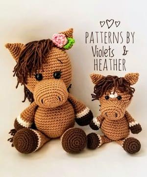 Fantasy Unicorn Pegasus Pony Amigurumi Crochet Pattern | Etsy | 362x300
