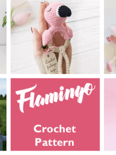 Crochet flamingo Patterns - Cute Gifts - A More Crafty Life - #amigurumi #crochet #crochetpattern