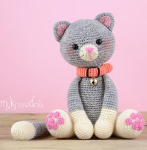 Amigurumi Cat Crochet Free Pattern - Crochet & Knitting | 306x300