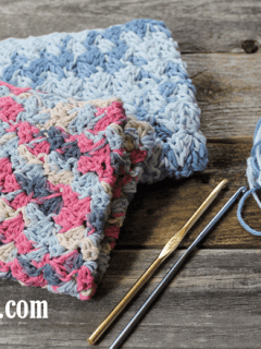 free printable sedge stitch crochet dishcloth pattern -amorecraftylife.com #crochet #crochetpattern #diy #freecrochetpattern