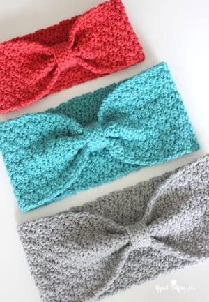 headband crochet pattern- free easy crochet warmer crochet pattern pdf - amorecraftylife.com #crochet #crochetpattern #freecrochetpattern
