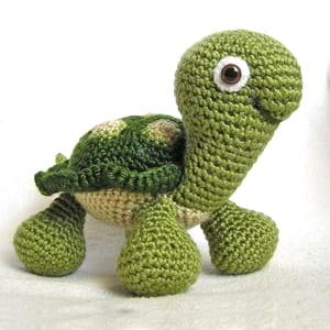 crochet turtle patterns- amigurumi crochet pattern - stuffed toy pattern #crochet #crochetpattern #diy #amigurumi